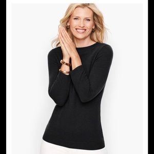 NWT Talbots Classic XS Cashmere Sweater